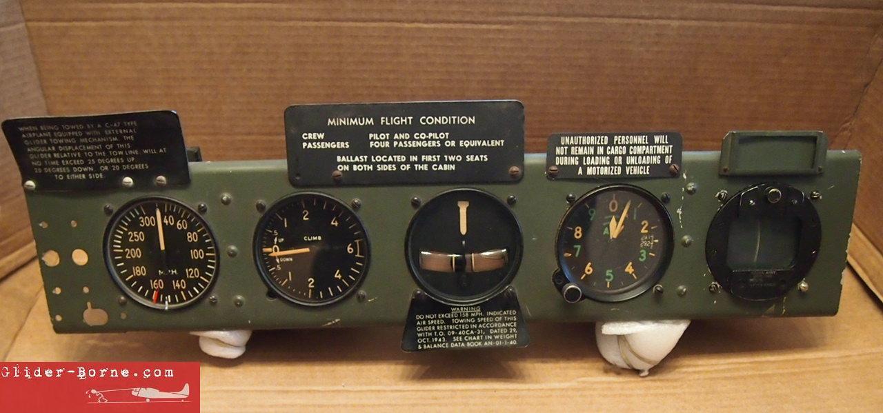 [Gliderborne] Restauration planeur WACO CG-4A Glierborne_instrumentPanel